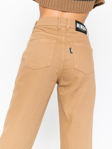 Minga London Slouchy Jeans - Honey Beige