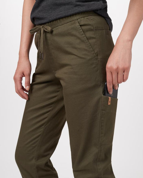 Ten Tree Womens Pacific Jogger - Olive Night