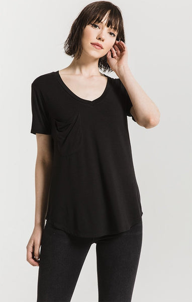 The Sleek Jersey Pocket T-Shirt
