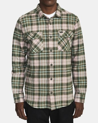 RVCA Operator Long Sleeve Flannel
