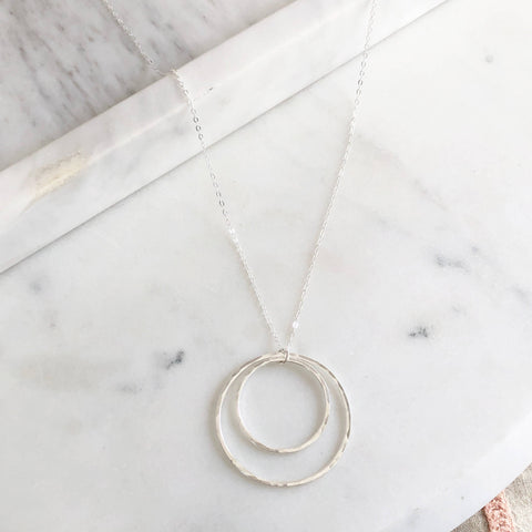 Token Jewelry Eclipse Necklace - Silver