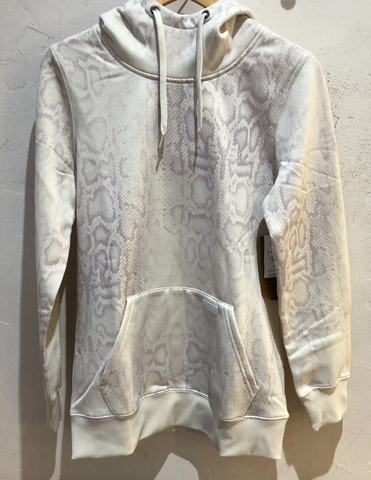 Volcom Womens Yerba Pullover Fleece Bone Snake