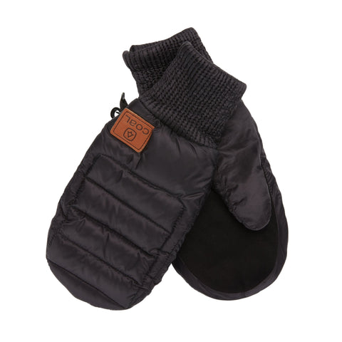 Coal Fairfax Quilted Down Mitten