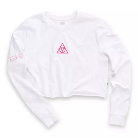 Vans Girls 66 Supply Tri Long Sleeve