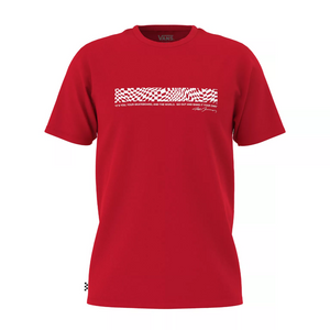 Vans Grosso Skate Short Sleeve Tee Racing Red
