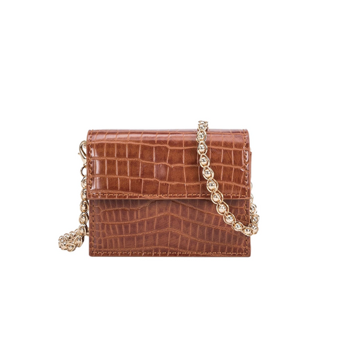 Melie Bianco Bianca Saddle Mini Crossbody