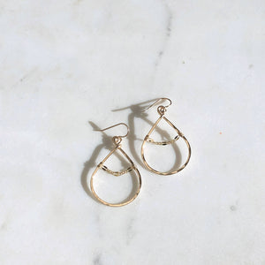 Token Jewelry Sylvie Hoop Earrings
