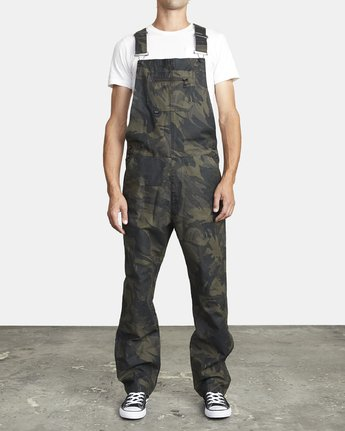 RVCA Chainmail Mens Overalls - Camo