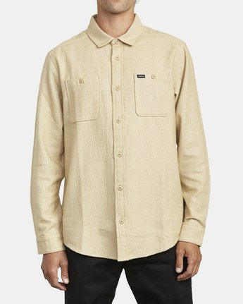 RVCA Harvest Long Sleeve Flannel