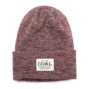 Coal Uniform Beanie - Burgundy Marl