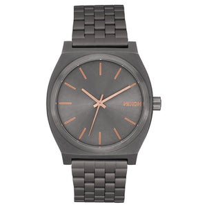 Nixon Time Teller - All Gunmetal/Rose