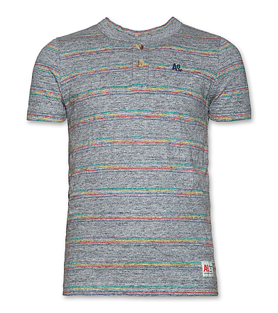 AO76 - T-shirt Henley - Teens Boys