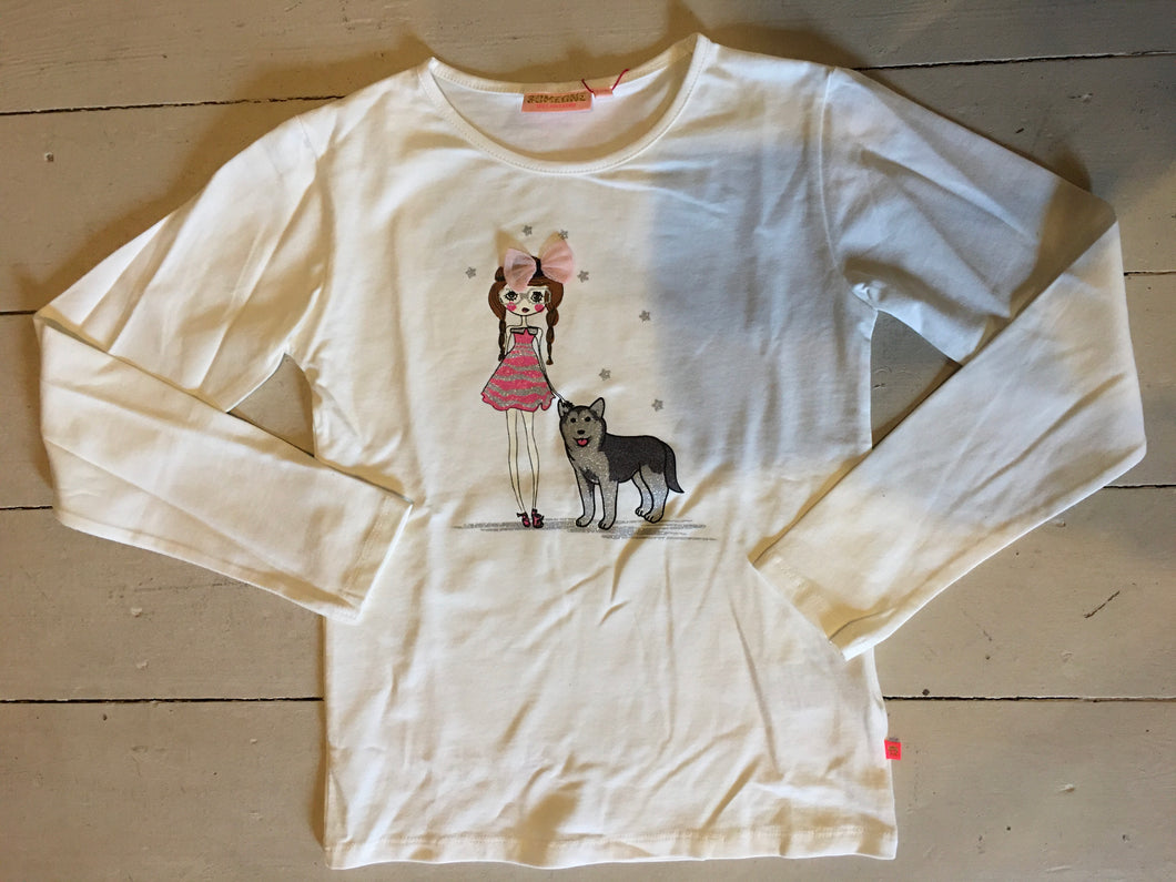 Someone - T-shirt Husky - Kids Girls