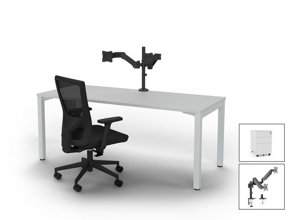 Axis 1800 x 750 Desk Bundle - FREE DELIVERY!