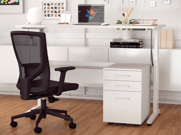 Aero 1800 x 750 Electric Desk Bundle - FREE DELIVERY!
