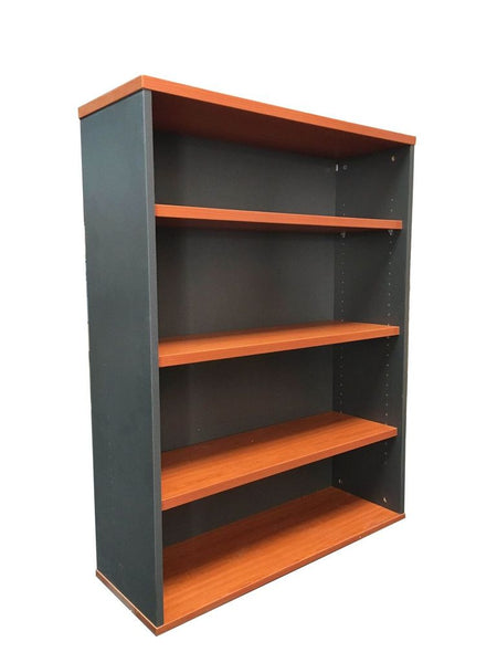 Open Bookcase - Includes 3 x 25mm T Adjustable Shelves