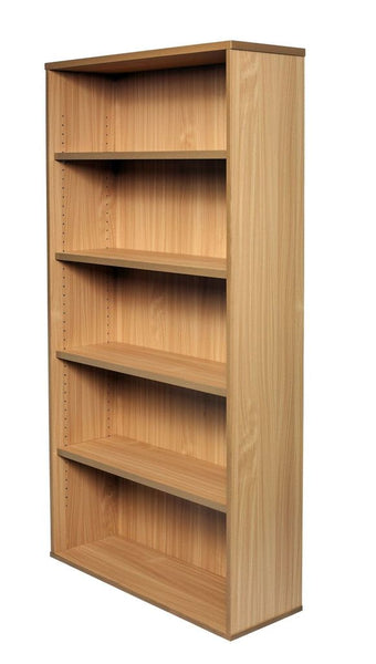 Open Bookcase - Includes 4 x 25mm T Adjustable Shelves