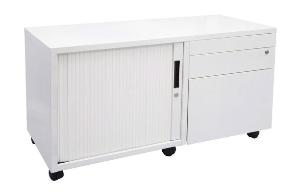 Rapidline Mobile Caddy Unit - Right Hand Tambour Door