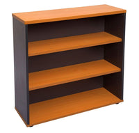 Open Bookcase - Includes 2 x 25mm T Adjustable Shelves