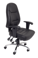 High Back PU Leather Commercial Grade Chair