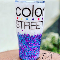 Color Street Tumbler - CraftingwithAmy