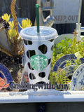 Starbucks Cold Cup Cow Print