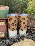 Personalized Leopard Tumbler/Cup