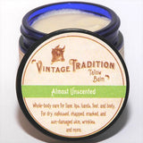 Tallow Balm - Almost Unscented, 2 oz.