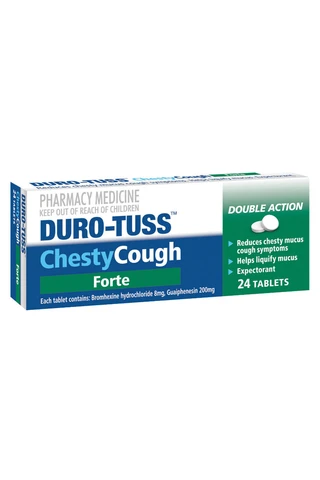 Duro-Tuss Chesty Forte 24 Tablets