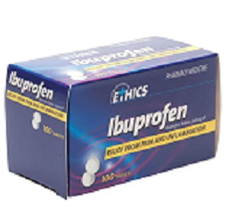 Ethics Ibuprofen 200mg 100 Tablets