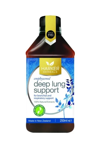 Harker Herbal Deep Lung Support 250ml