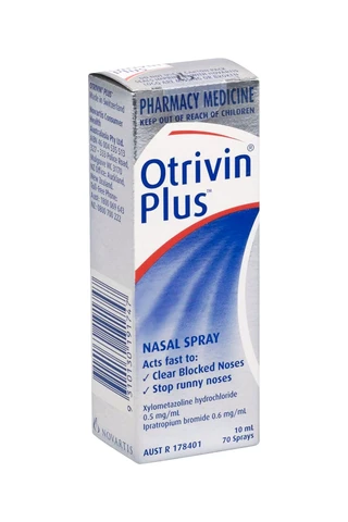 Otrivin Plus Adult Nasal Spray 10ml
