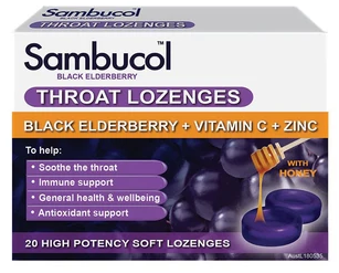 Sambucol Throat Lozenges 20s