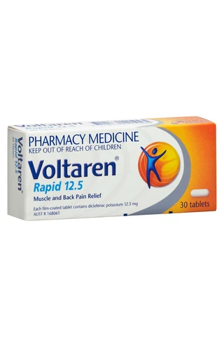 Voltaren Rapid 12.5mg 30 Tablets