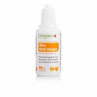Clinicians Zinc Oral Drops 30ml