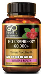 Go Healthy Cranberry 60000+ 60 Capsules