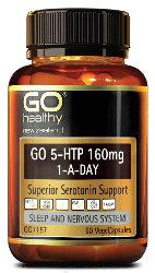 Go Healthy Healthy 5-Htp 160mg 60 Capsules