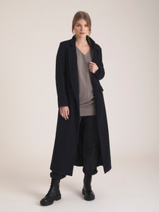 Orna V Neck Cape Cashmere Sweater