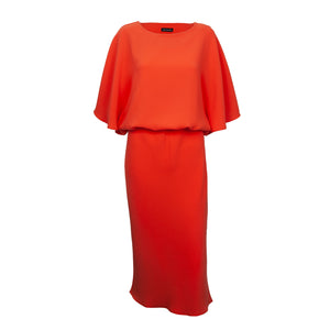 Effortlessly stylish Melissa cape top dress y