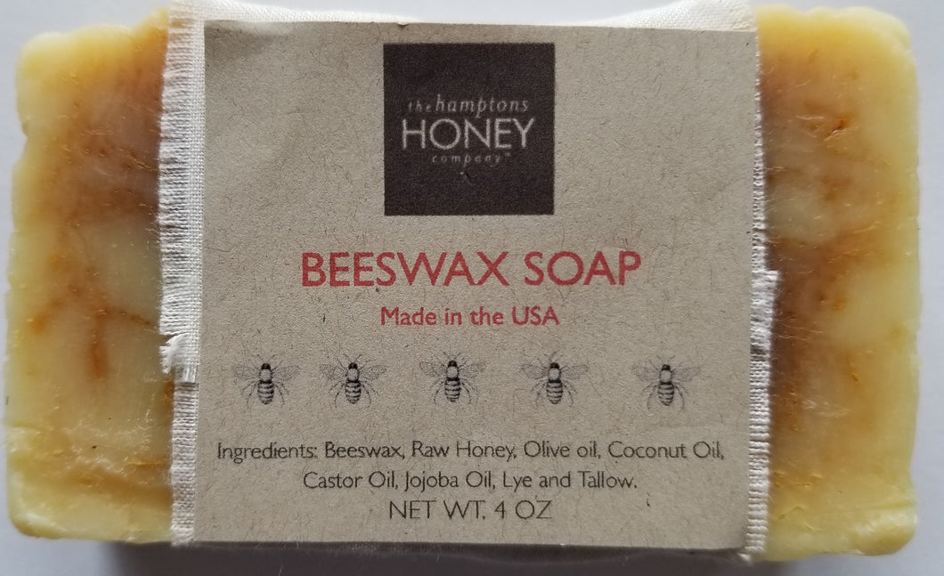 Beeswax Honey Soap  4 oz.