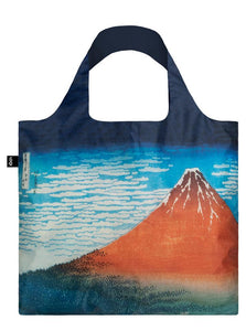 Tote Bag - HOKUSAI Red Fuji, Mountains in Clear Weather