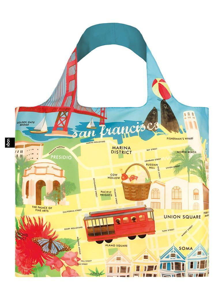 Tote Bag - Urban San Francisco