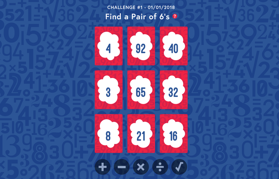 Play Free Weekly Math Puzzles to Practice Your Mental Math Magic