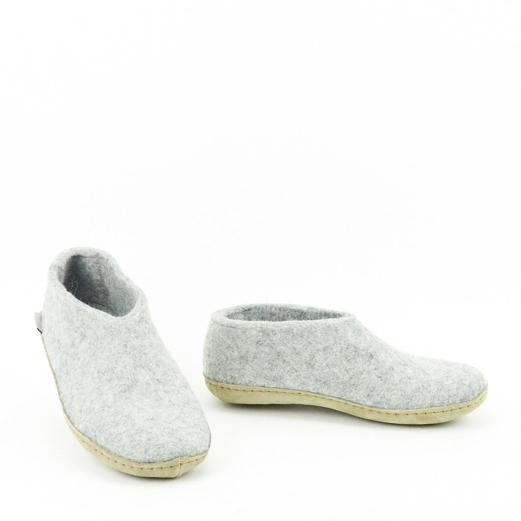 Glerups A-01-00 Shoe leather Grey