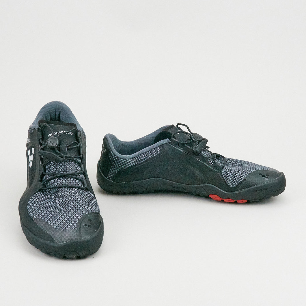 Vivobarefoot Primus Trail FG L Black Charcoal Mesh Synthetic