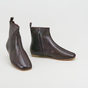 Clarks Margot Boot Burgundy Leather