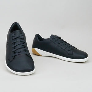 Vivobarefoot Geo Court M Obsidian Leather