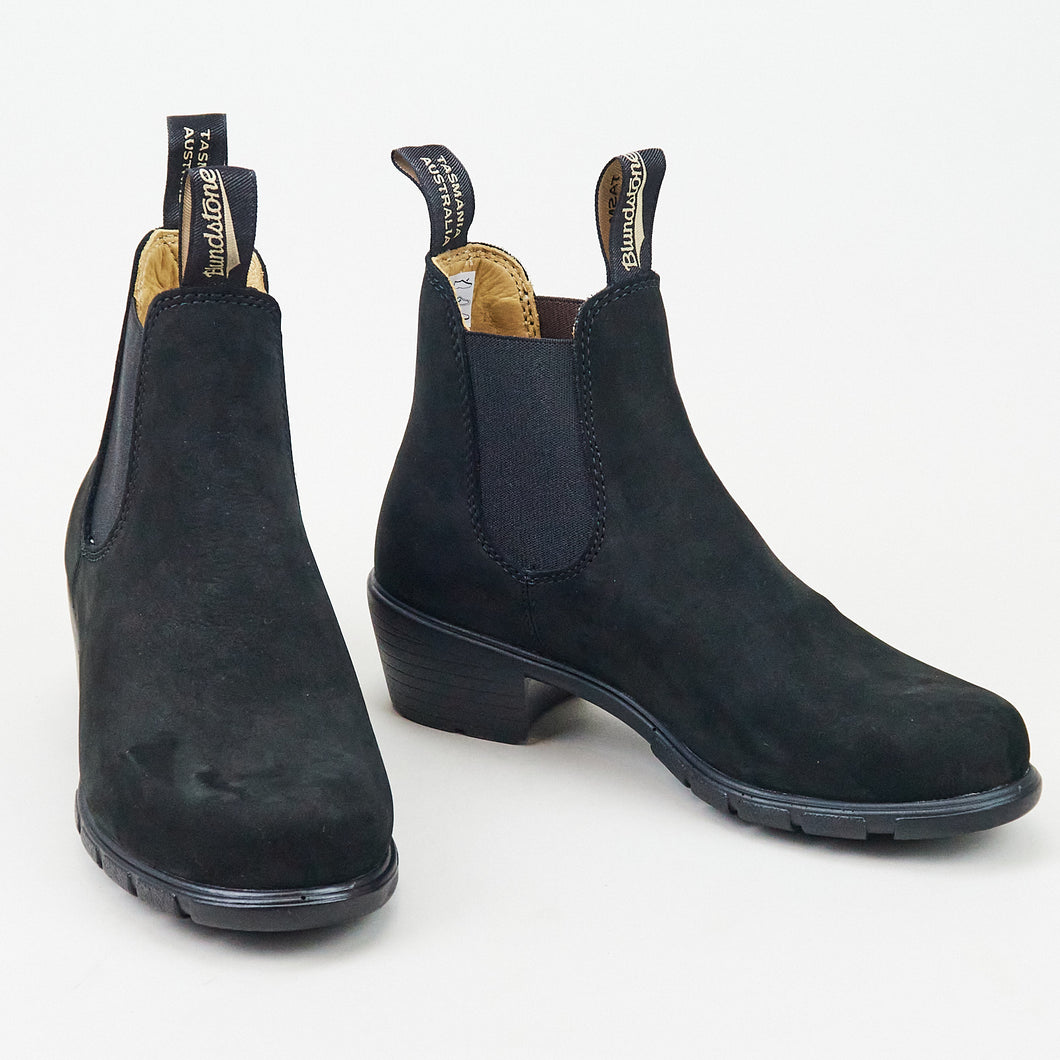 Blundstone 1960 Heeled Black Nubuck Leather