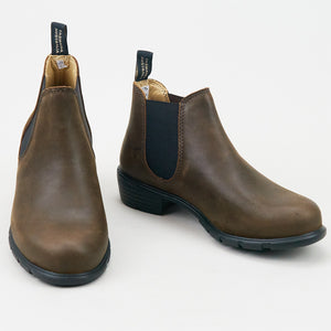 Blundstone 1970 Low Heeled Antique Brown Leather