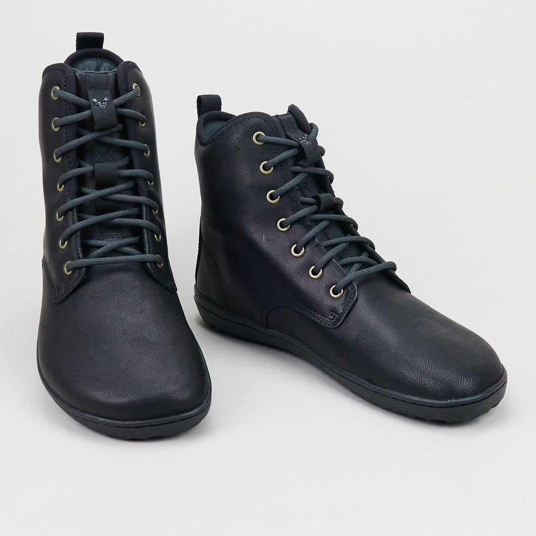 Vivobarefoot Scott II Leather M Obsidian Leather
